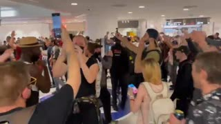 PROTESTERS IN PARIS STORM MALL WITHOUT VACCINE PASSPORTS