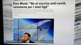 Helon Musk no al vaccino.