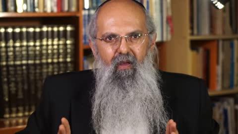 Rav Uri Sofer speaking about the whack