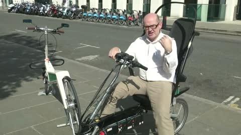 'Safest bike ever' devised by British entrepreneur
