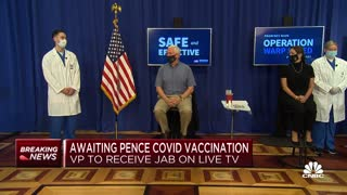 Mike and Karen Pence get Covid-19 vaccine