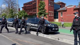 Police back down - Australia