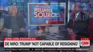 Robert De Niro on 'Reliable Sources'