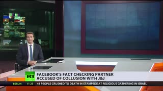 facebook's fact checking partner accused of collusion with J&J