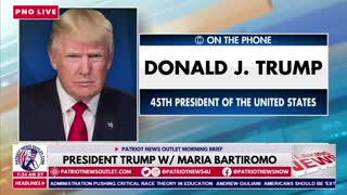 President Trump Live w/ Maria Bartiromo 4/29/2021
