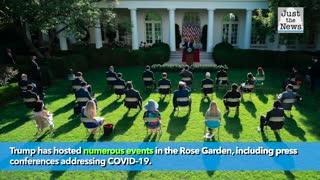 Melania Trump announces historic Rose Garden renovations