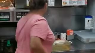 Viral video shows rat in Texas fast food restaurant