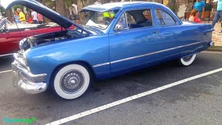 1950 FORD in Blue., Florida Car Show