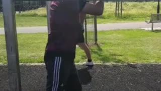 Boxing technique training