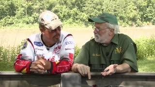North Branch Susquehanna River Muddy Water Bass Fishing