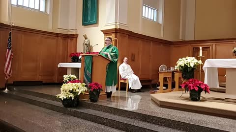 Mass on January 17, 2021