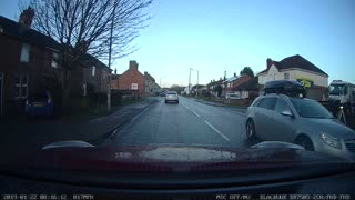 Close Call During Driving Test