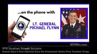 Exclusive! Gen. Mike Flynn First Interview