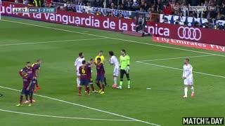 Real Madrid vs FC Barcelona. - Crazy match