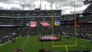 American Flag Unfurling