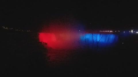 Nigra falls at night 2