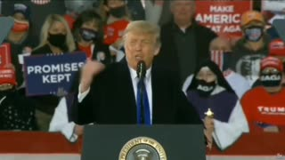 """""""Heads Exploding"""" President Trump Explaining His 3rd Supreme Court Justice"""