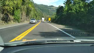 driving through the southern Brazil lanes