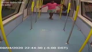Man attacks woman in unprovoked attack in Miami
