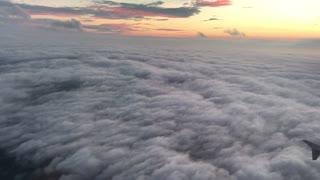 Sunrise over the northeast USA
