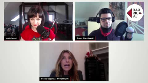 On the barricades s02e12 — Feminism in Italy and the US return to demonizing Putin