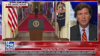 Tucker Carlson Reacts LIVE to Biden Speech — Internet ERUPTS