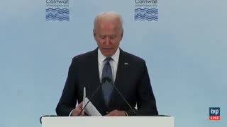 Biden's Brain BREAKS - Confuses Syria With Lybia THREE TIMES