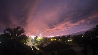 Hawaii Sunset during Hurricane Douglas (2020)