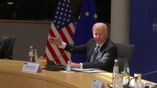 Biden Gets Lost Reading His Notes At G7 Summit