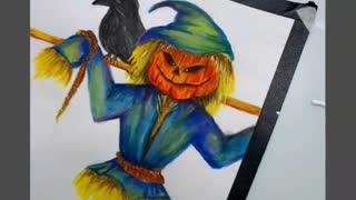 Scarecrow Painting