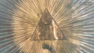 All seeing eye in Macedonian churches