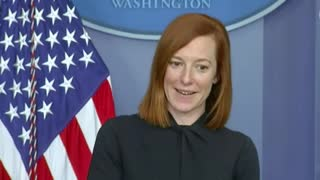 Jen Psaki Gets Zero Questions on National Guard Troops Sleeping in Garages