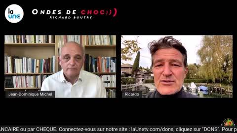 Jean Dominique Michel invité d'Ondes de choc 18 oct 2021