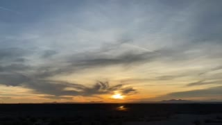 Sunset 1/13/2021 Ehrenberg Arizona
