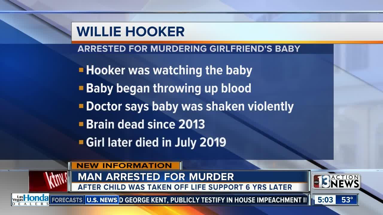 Man arrested for murder after child dies