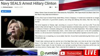 PWG Exclusive Update 3.5.21 SmokeTunnels Under White House, Hillary Arrested,Trump switzerland