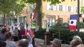 14/08/2021 Villefranche sur Saône, Civitas contre la tyrannie sanitaire