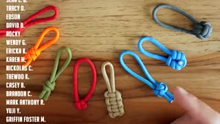 8 Awesome Paracord Zipper Pulls Easy Zipper Pull Ideas