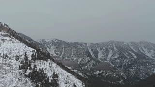 Mount Charleston Winter Panorama
