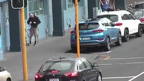 Bikes being stolen caught on camera