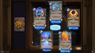 Hearthstone and Me Opening packs