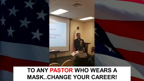 To Any Pastor Wearing a Mask Change Your Career... :)