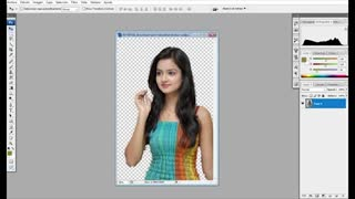 Removed Background Photoshop cc