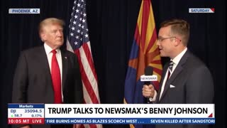 President Trump full interview with Benny Johnson 🇺🇸