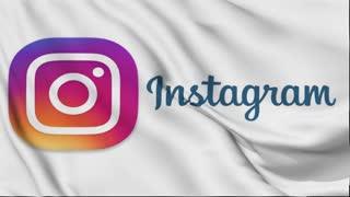 Social Media Animation Instagram Flag Free HD Videos Clips