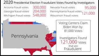 2020 Presidential Voting Fraud in Swing States
