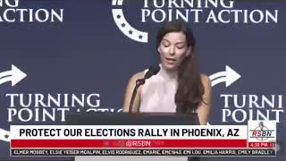 Michelle Ugenti Rita booed off the stage at Turning Point USA