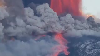 Etna volcano eruption in Italy again
