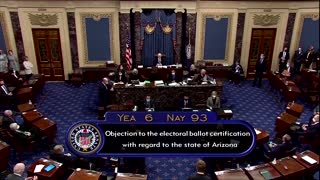 Senate rejects Trump allies' objection to election results