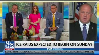 Tom Homan accuses Homeland Security Secretary of raid leaks